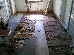 Golvet lättar i köket