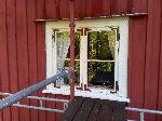Köksfönstret redo för sista lagret färg