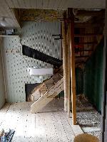 Uppsättning av trappan