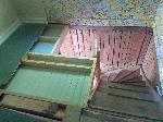 Nytt bjälklag i tidigare trapphål