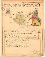 Geometrisk Charta Öfwer Torvet Lilla Hammaren Anno 1700